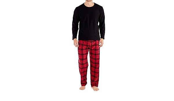 Harvey James - Sets de pijama Hombre - Rojo - XL: Amazon.es: Ropa y accesorios