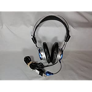 Labsonic LS-5750 Computer Gaming/Education Noise-Cancelling Headphones with Microphone