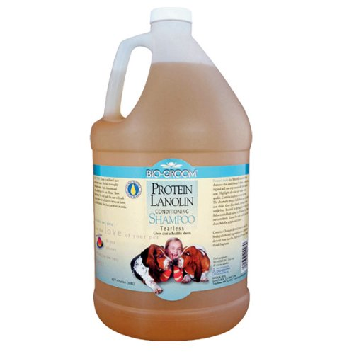 (Bio-Groom Protein Lanolin Pet Conditioning Shampoo, 5-Gallon)