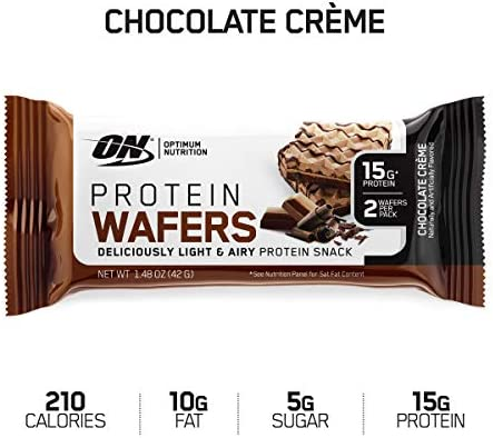 Optimum Nutrition Protein Wafers Chocolate