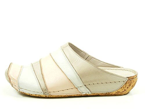 808 blau Beige Abiertos Mujeres Gemini kombi 032091 Zapatos 02 Azul qU8P7PIw
