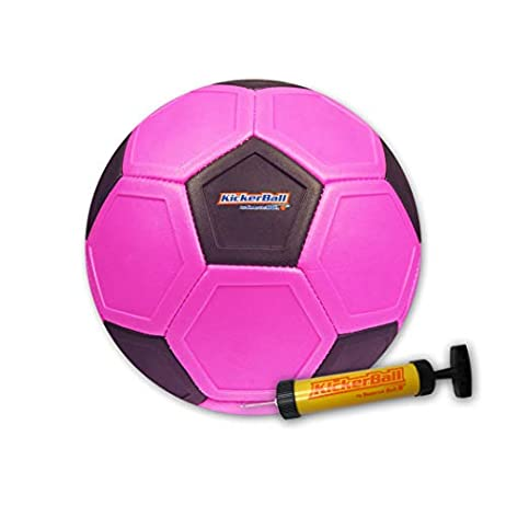 Kickerball - Curve and Swerve Soccer Ball/Football Toy - Kick Like The Pros, Great Gift for Boys and Girls - Perfect for Outdoor & Indoor Match or Game, Bring The World Cup to Your Backyard 1