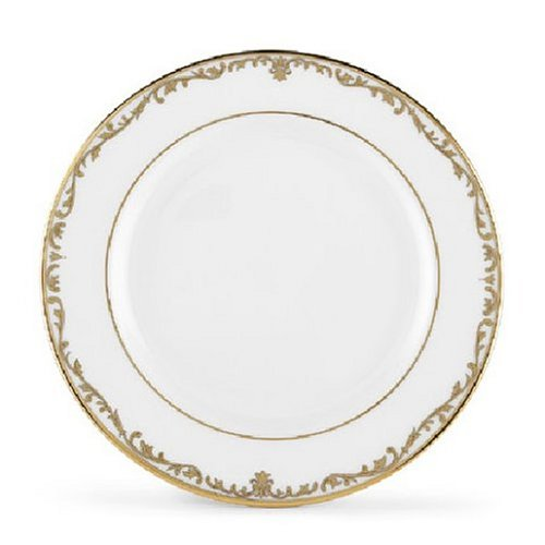Lenox Coronet Gold Bone China Accent Plate, 9-Inch
