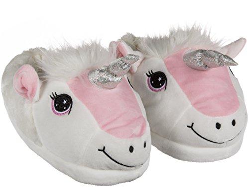 Pantofole In Peluche Unicorno In 3 Dimensioni Tra Cui Scegliere