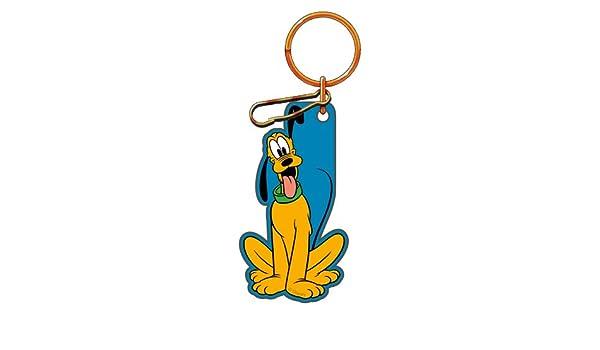 dog keyring Pluto various designs