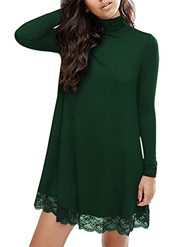 green holiday party dress - 2
