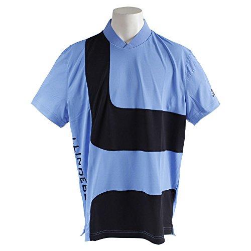 ポロシャツ メンズ Jリンドバーグ J.LINDEBERG 日本正規品 2018 春夏 ゴルフウェア L(48) ブルー(095) 071-27445