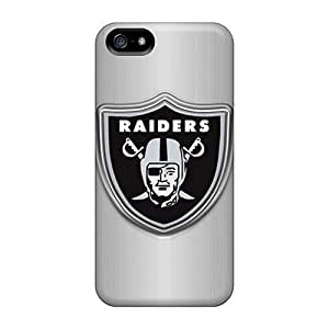 Awesome Design Oakland Raiders Hard Case Cover For Iphone 5/5s
