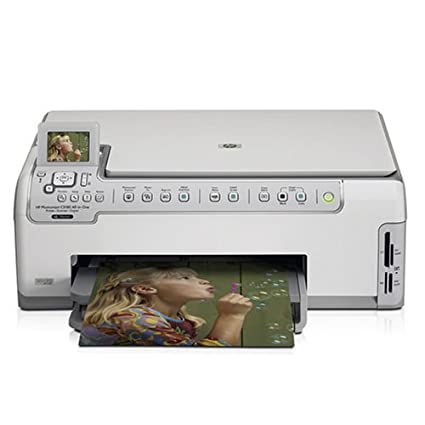 Amazon com: HP Photosmart C5180 All-in-One Printer, Scanner