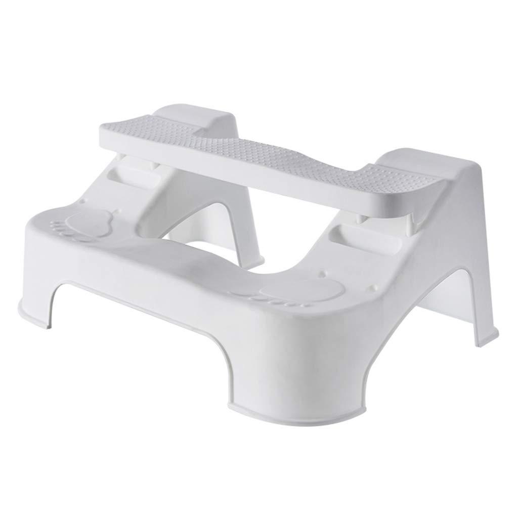ZXXX Toilet Squatting Stool Adult Bathroom Toilet Stool for Kids Adjustable Height by ZXXX
