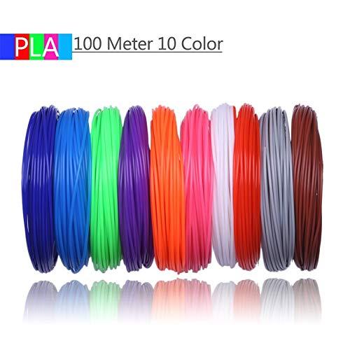 Wang-nuan-jun, Filamentos de Impresora 3D 200 Metros 20 Colores ...