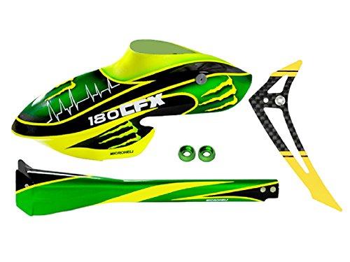 iberglass Green Monster Fuselage set - BLADE 180 CFX (Green Fuselage)