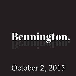 Bennington, October 2, 2015