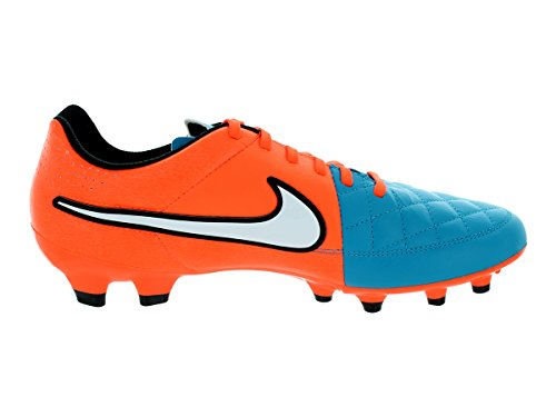 Boots Turq Tiempo crmsn White Football Firm Genio Neo Men's Leather blk Ground Nike 0fngwqzq
