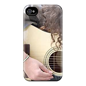 Maria N Young Snap On Hard Case Cover Acoustic Protector For Iphone 4/4s
