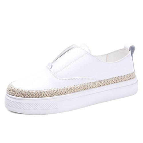 Zapatos de otoño/las mujeres zapatos de pescador/Mujeres zapatos casuales/Versión coreana de los zapatos de fondo plano/Le Fu, zapatos cómodos A