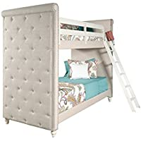 Pulaski Madison Girls Youth Bunk Bed with Ladder