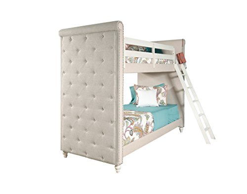 Pulaski Madison Girl's Youth Bunk Bed with Ladder