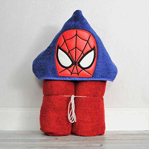 Spider Web Hero Hooded Bath Towel - Baby, Child, Tween ()