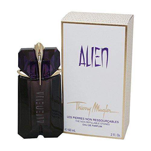 Thierry Mugler Alien Non Refillable Stones Eau De Parfum Spray for Women, 2 ()