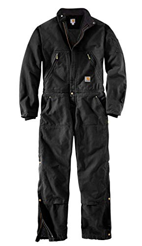 2 Quilt Lined Carhartt Coveralls amp; Men Bibs Coverall Black Duck Y0w8wa