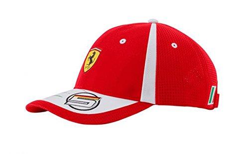 Ferrari Scuderia Sebastian Vettel Cap (Scuderia Ferrari Cap)