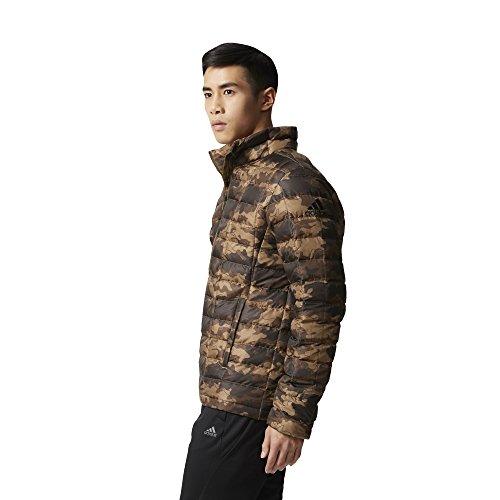 Light adidas Down Camouflage Men's Jacke Black Print Jacket Men Light Camouflage Print Traoli RzRUqS