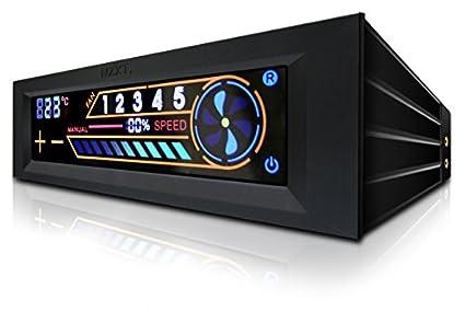 NZXT - Controlador de ventilador ordenador de 5 canales con pantalla tactil (AC-SEN-3-B1) NZXT Spain