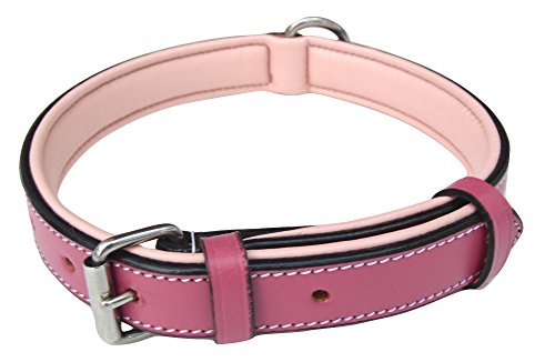 Soft Touch Collars Slimline Raspberry