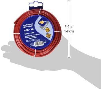 PROFB 790410380 C/âble Vob 6 mm 10 m Noir