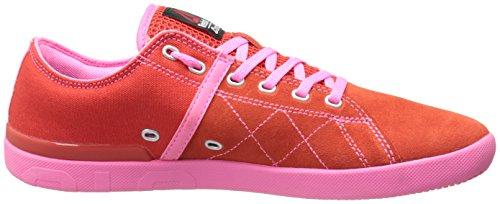 Reebok Kvindernes Crossfit Lite Lo Tr Træning Sko Porcelæn Rød / Elektro Pink / Stål KF6ppocxM