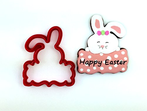 Bunny Plaque Cookie Cutter -