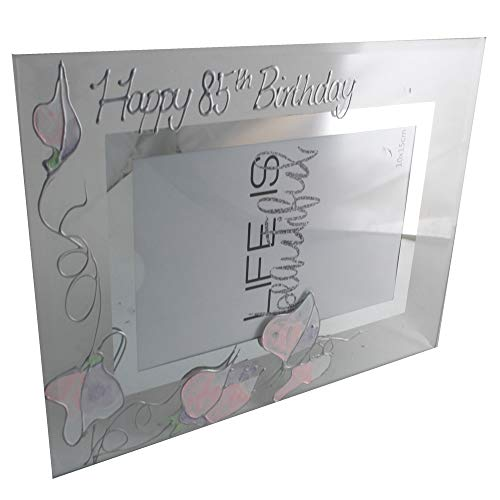 Dreamair 85th Birthday Gift Sweet Pea Photo Frame (Land)
