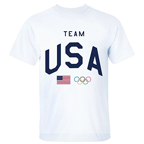 USA Team Flag Olympics Rings 2016 Cool T-shirts