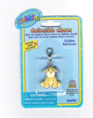(Webkinz Collectible Charm - GOLDEN RETRIEVER)