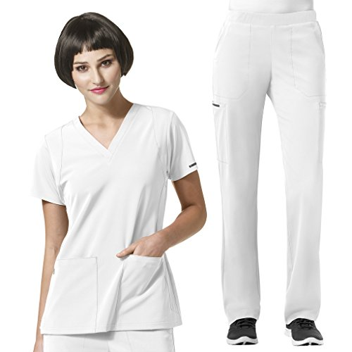 WonderWink Womens Performance Scrubs V Neck