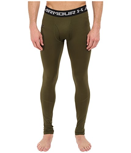 Under Armour ColdGear Infrared Evo Legging - Men's Greenhead / Black XXL