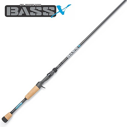 St Croix Bass X Casting Rods (MHF, 7'1