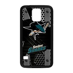 Custom Unique Design NHL San Jose Sharks Samsung Galaxy S5 Silicone Case