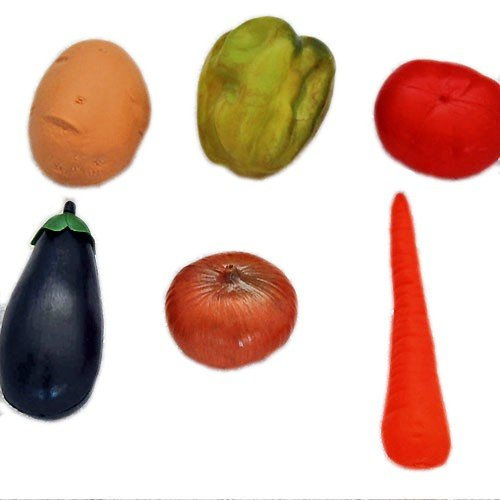 Learn and Play Vegetables in a Bag (6-Piece) B0096ZT58S