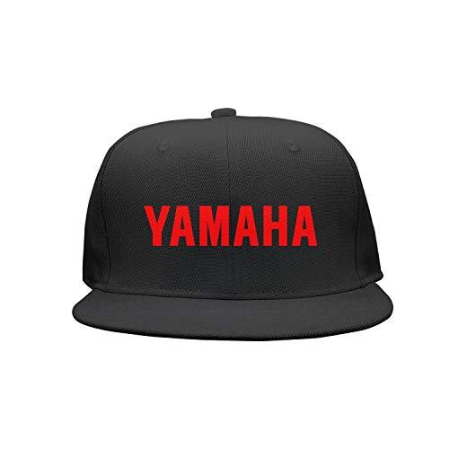 Funny Red-Yamaha-Logo-Symbol-Emblem- Black Baseball Caps Womens Mens