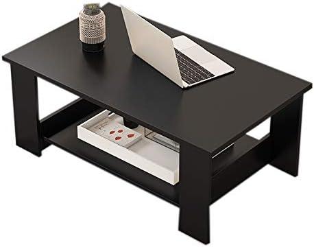 Goedkoop Moderne salontafel rechthoekige salontafel van MDF decor sofa side stable zijtafel gemakkelijk te reinigen bijzettafel voor thuis en slaapkamer, tablet, 80 x 40 x 42 cm  xZTwzOm