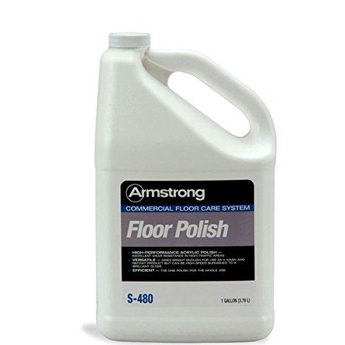Armstrong S-480 Commercial Floor Polish 1 Gallon