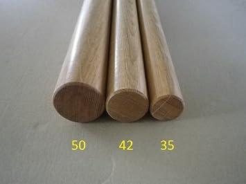 120 cm Eiche Handlauf ohne Halter in verschiedenen L/ängen