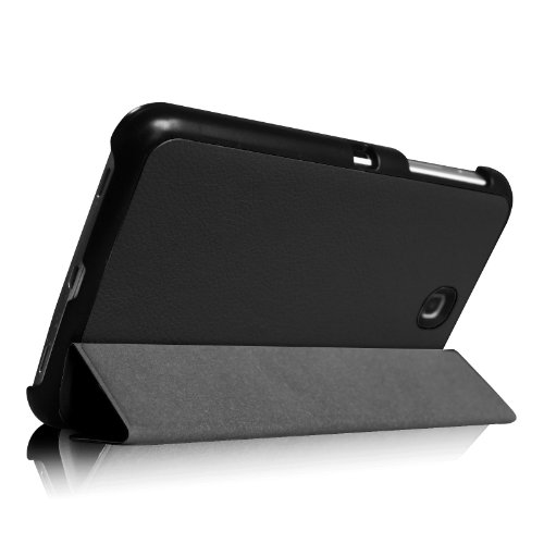 Fintie Samsung Galaxy Tab 3 7.0 Case Cover - Ultra Slim Lightweight Stand Smart Shell, Black