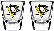 NHL Pittsburgh Penguins Shot Glass, 2-Pack