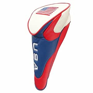 JP Lann USA Flag Fairway Club Golf Club Headcover