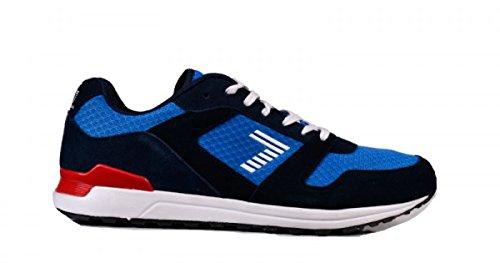 Sneaker Tela Armani Ea7 Emporio Scamosciata Blu wxzPqn57