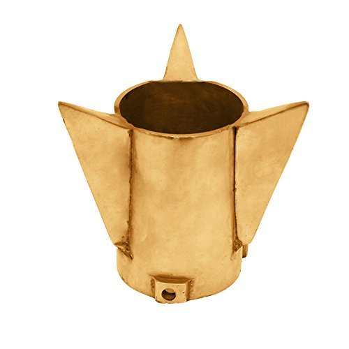 - A&A Automobile Speedy Riders Universal Brass Rocket Silencer End Cap For Royal Enfield 48MM Diameter Golden