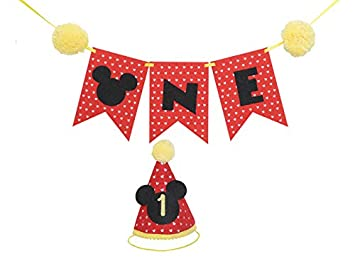 Mickey Party Mini Hat